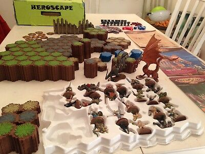 Heroscape Master Set: Rise of the Valkyrie [1 Army Card, 1 Glyph Missing]