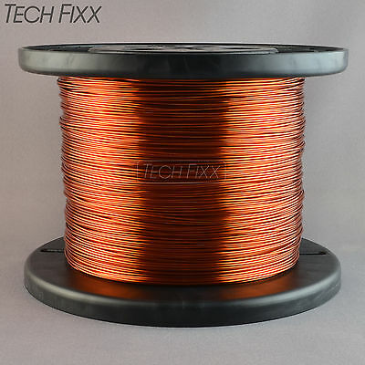 Magnet Wire 18 Gauge Enameled Copper 1340 Feet Coil Winding 6.72 Lbs Essex 200C