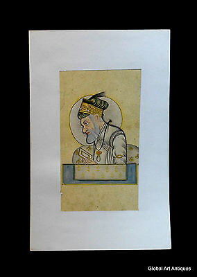 Rare Hand Painted Fine Decorative Collectible Indian Miniature Painting. G77-28