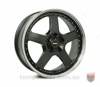 FORD  FALCON FG WHEELS PACKAGE: 18x7.0 18x8.5 Simmons FR-1 Hyper Dark and Kumho