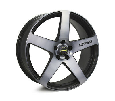 FORD MUSTANG WHEELS PACKAGE: 20x8.5 20x10 Simmons FR-C Black Tinted and Continen