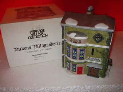 Dept 56 Dickens Snow Village  King's Road Post Office 58017