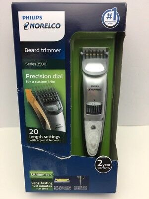 Philips Norelco Beard trimmer Series 3500, 20 built-in length QT4018/49