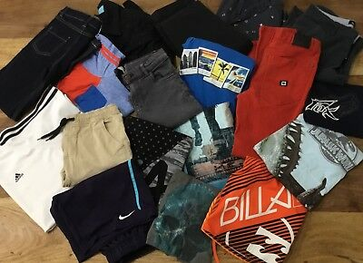 Boys Sz 12 Clothing Bulk - Billabong Adidas Nike Badboy