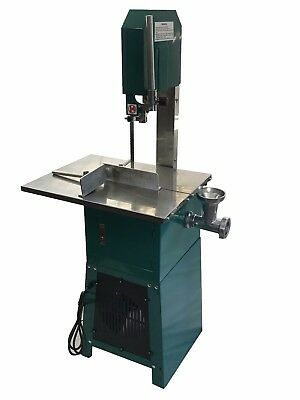 Standing Meat Saw Cutter Cut Band Mincer Grinder Sausage Stuffer Maker Ul Lister