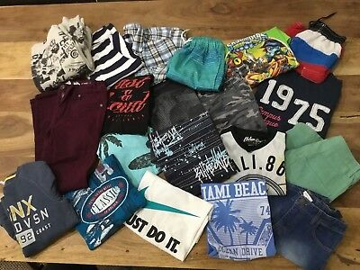 BOYS SZ 7-8   BULK clothing  BILLABONG NIKE INDUSTRIE