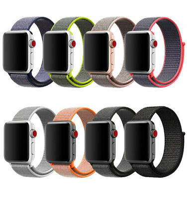 Flash Sport Loop Woven Nylon Sport Watch Band Bracelet For Apple Watch Series 3