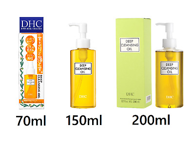 DHC Deep Cleansing Oil Makeup Remover 70ml 150ml 200ml Free Shipping From Japan