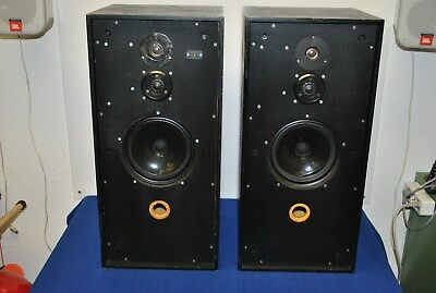 Spendor BC1A mit M50 ARD Power Amplifier one pair very rare and full working !!