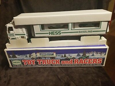 1997 TOY TRUCK AND RACERS In Original Box EXCELLENT CONDITION