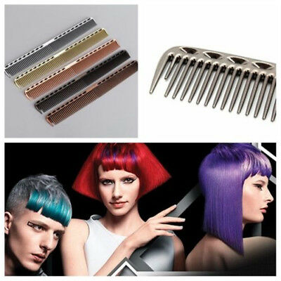 U-shaped Space Aluminum Comb Barbers Hairdressing Hair Cutting Long Antistatic