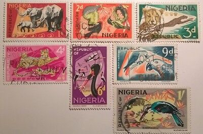 Nigeria Stamps - 1965 - Set Of 7 - Used