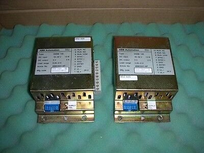 1PC Used ABB DSSB146 /DSSB-146/(48980001-AP/2) /48980001-AP #OH08