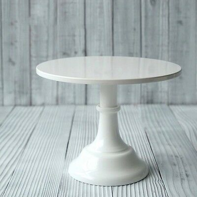 25cm x 18.5cm High Elegant White Iron Metal Cupcake Cake Stand Wedding Birthday