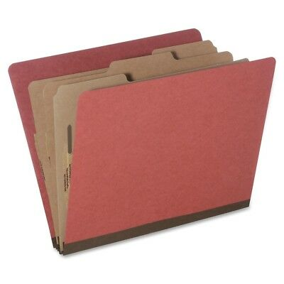 "Skilcraft Classification Folder,8Part,3Div,3""Exp,Letter,10/PK,Earth RD 5726208"