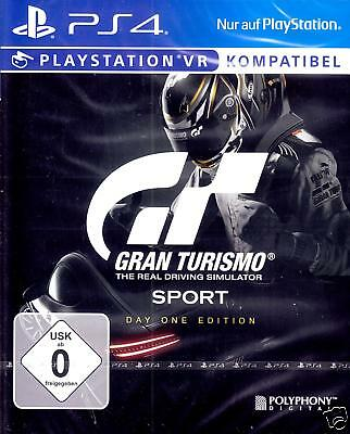 Gran Turismo Sport D1 / Day One Edition + That's You DLC PS4 / PS4 PRO NEU