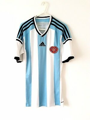 Hearts Away Shirt 2014. Small Adults. White Short Sleeves Football Top Only S.