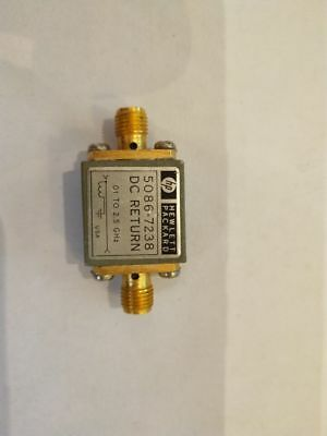 1pc Used Good functoin HP Agilent 5086-7238 RF DC Return  0.01 to 2.5GHZ #YH
