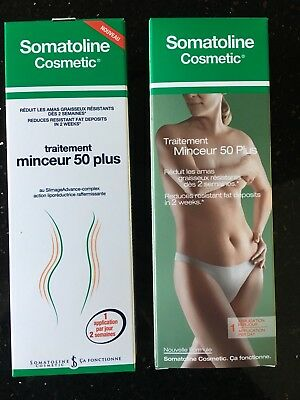 Lot De 2 Somatoline Cosmetic Traitement Minceur 50 Plus 250 ml