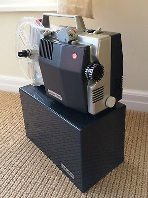Bauer T4 8mm & Super 8 Projector Made Germany Vintage WORKING