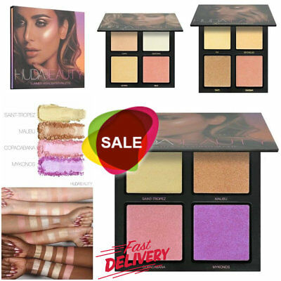 HUDA BEAUTY 3D HIGHLIGHTER PALETTE Make Up 2017 Edition 2 styles Christmas gift