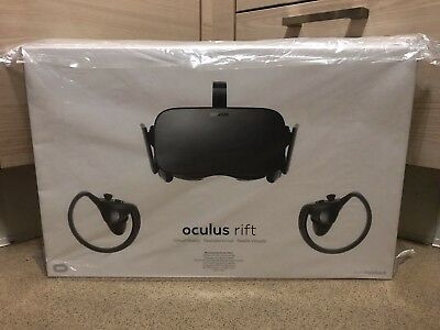 Oculus Rift Virtual Reality Headset and Touch Controllers
