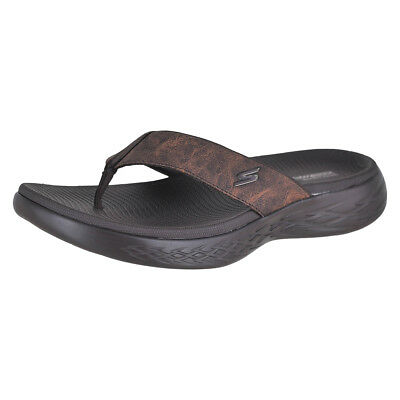 fb1c31cf604a SKECHERS ON-THE-GO 600 - Seaport Chocolate Choc Mens Flip-Flop Size ...