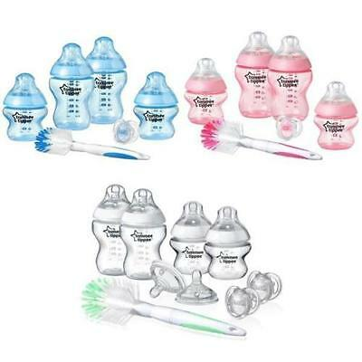 Tommee Tippee CTN Newborn Feeding Starter Set kit Baby Girl/boy/Feeding bottles