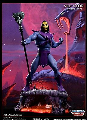 SKELETOR EXCLUSIVE 1/4 Scale Statue POP CULTURE SHOCK Masters of the Universe