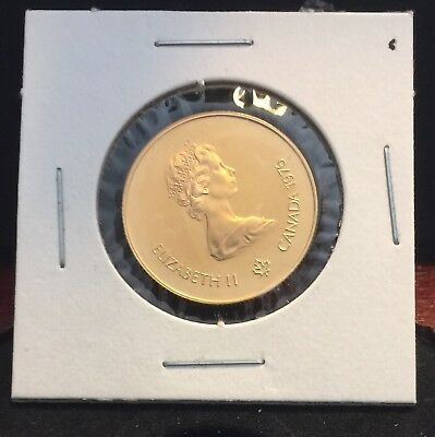 1976 $100 Canadian Olympic 22 K Gold Proof Coin