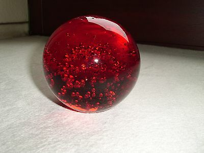 altes Paperweight, Glas