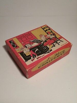 Vintage SANDERS DETROIT Candy Container - Antique CANDY BOX - 1/4 Lb. Net. - VGC