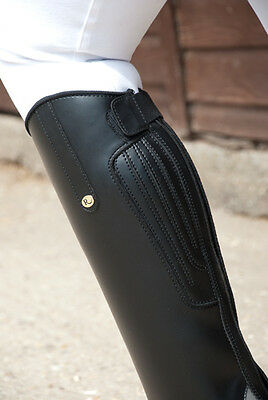 Rhinegold Nebraska Riding Long Boots Black - All Sizes In Stock