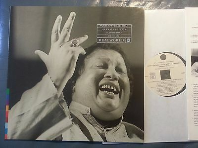 LP NUSRAT FATEH ALI KHAN Qawwal And Party Shahen-Shah REAL WORLD (Germany, 1989)