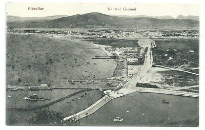 Vintage Postcard. Gibraltar, Neutral Ground. Unused.  Ref:7.114