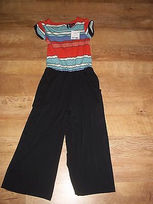 Girls Next Striped Jumpsuit playsuit Age 4 Years BNWT