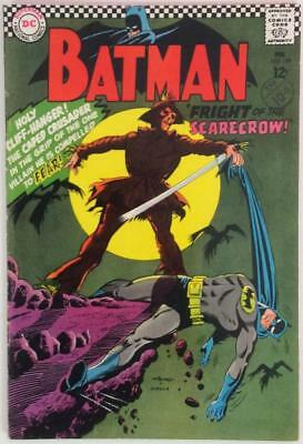 Batman #189 first Silver age appearance Scarecrow (DC 1967) Nice copy