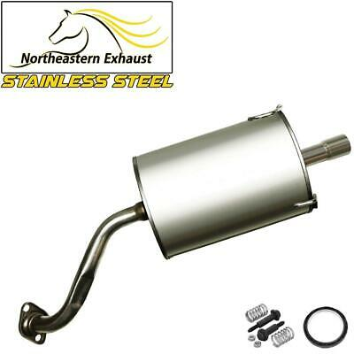 fits 2002-2004 Honda CRV 2.4L Stainless Steel Resonator Muffler Exhaust System