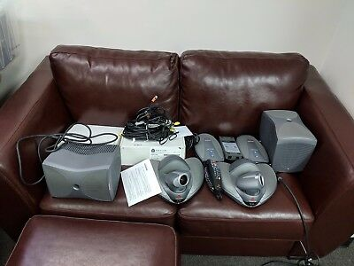 (2) Polycom VSX7000 Video Conferencing Systems 2201-20250-001 w SubWoofers