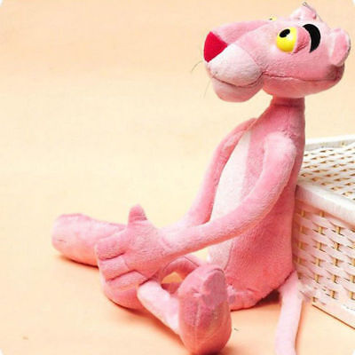 Pink Panther Plush Toy Stuffed Animal Doll 40 cm Tall Lovely Cute Children Gift