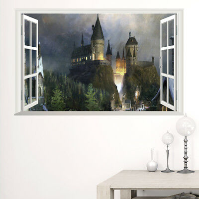 Harry Potter 3D Hogwarts Wall Poster for Christmas Gift