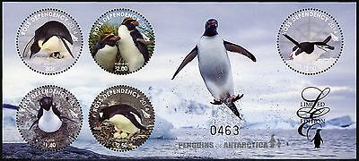 Ross Gebiet 2014 Block 12 Pinguine Penguins Vögel Limited Edition Postfrisch MNH