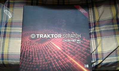 Vinilo Vinyl Timecode Traktor Mk2 Black Native Instruments