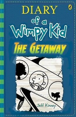 New The Getaway (Book 12, Diary of a Wimpy Kid) By Jeff Kinney