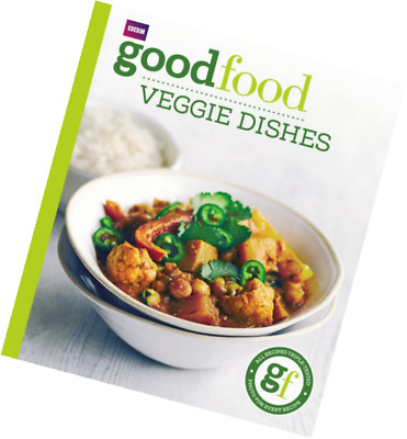 Good Food Veggie Dishes Vegetarian Cookbook NEW Paperback Easy Cook Book How To