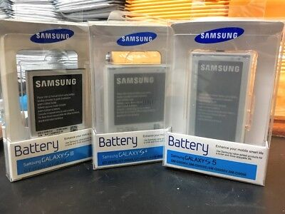 Original Retail Box Packaged Samsung Galaxy S3 S4 S5 Note 3 4 Edge J3 Battery