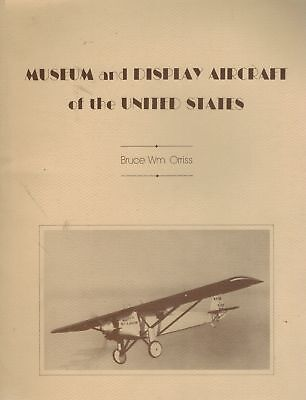 Museum and display aircraft of the United States 1976 SC BOOK