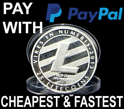 Buy 0.1 Litecoin LTC Pay With Paypal - Best Cryptocurrency Investment 2017/18