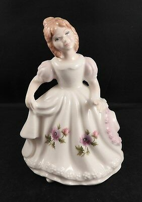 Royal Doulton Figure of the Month March Signed in Box