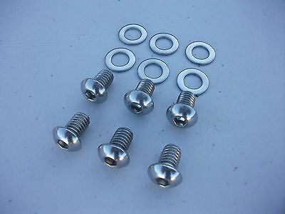 NEW STAINLESS SIDE COVER PLATE BOLTS to HK HQ HX HZ HJ WB VB VC VH VK HOLDEN